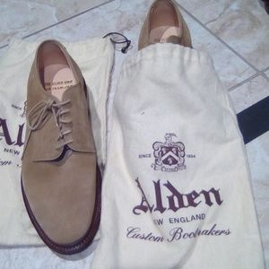 The alden shop suede tan shoes